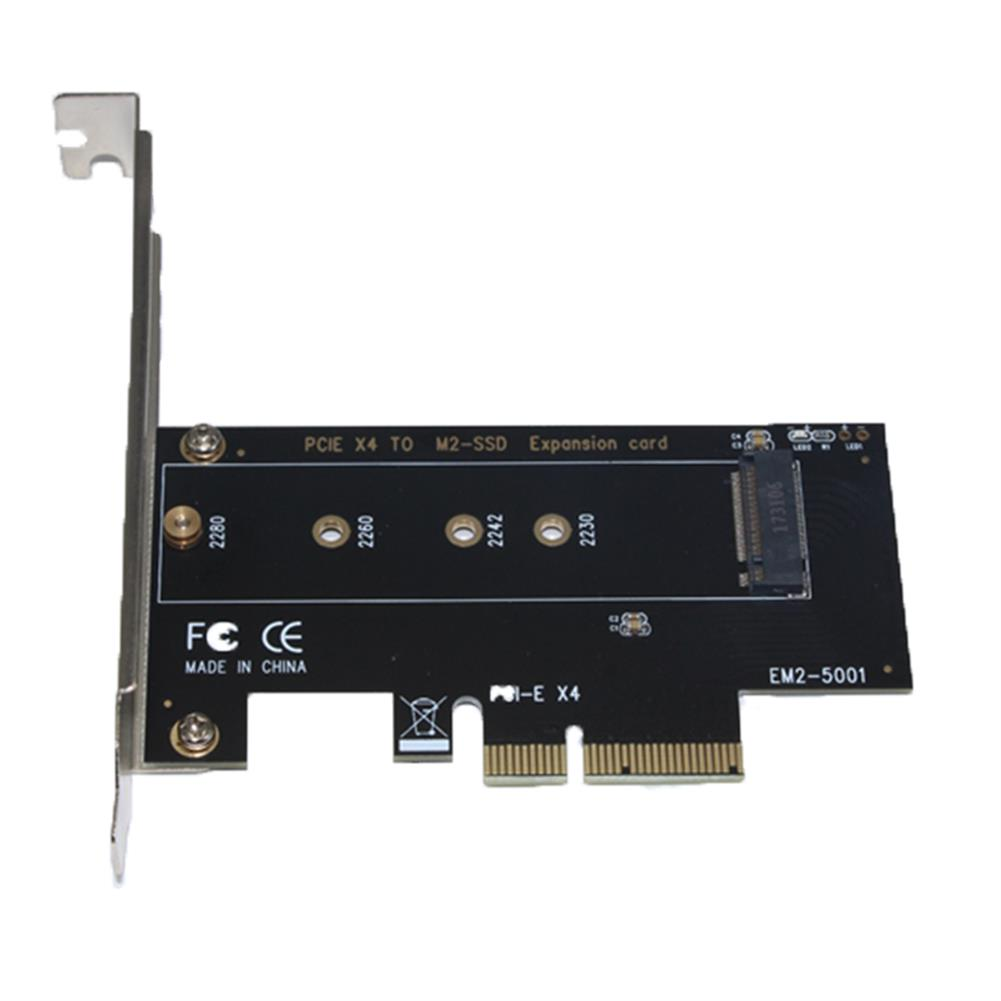 pci-cards SSU EM2-5001 NVME Protocol M.2 to PCI E 3.0 High - Speed Expansion Card for Desktop Computer HOB1548790 1