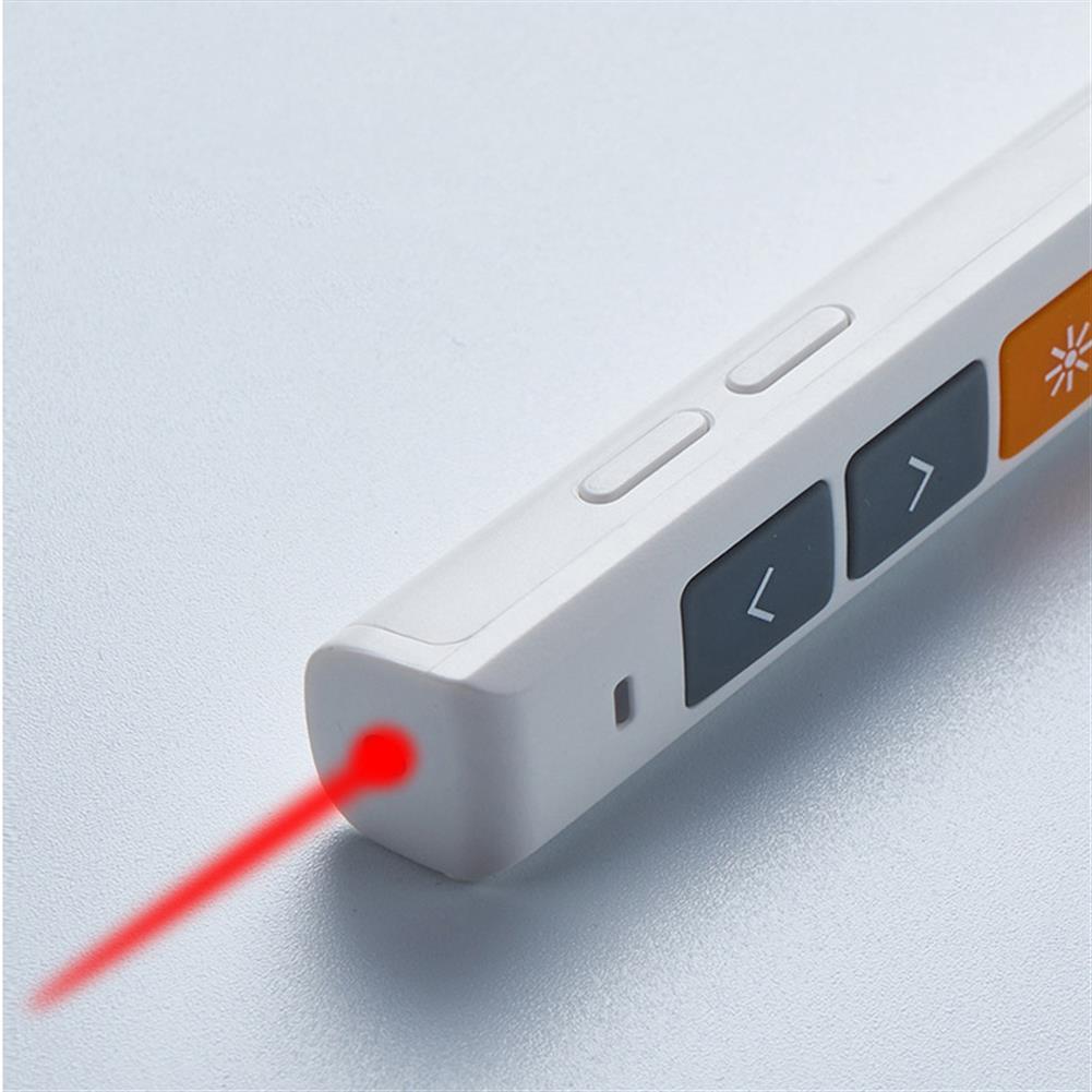 laser-pens Vesine VP152 Rechargeable Wireless Presenter Laser Flip Pen PPT Laser Page Pen Clicker Presentation Pen USB Remote Control Supports Hyperlink Function HOB1551124 2 1