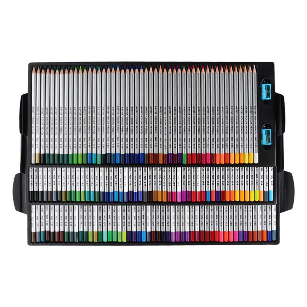 watercolor-paints QiLi QL-C150 150 Colors Wood Colored Pencils Artist Painting Oil Color Pencil for School Drawing Sketch Pens Art Supplies Stationery HOB1555736 1 1