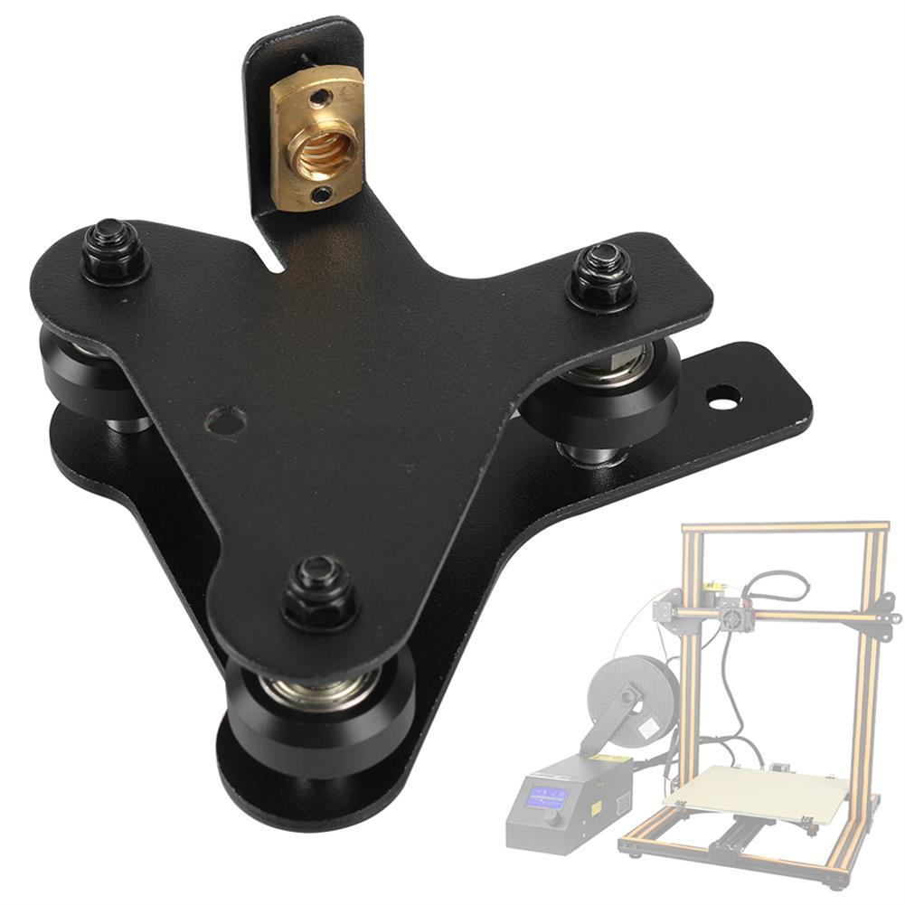 3d-printer-accessories S4/S5 Right X-Axis Motor Mount Bracket Plate with Pulley & T8 Nut for CR-10 Creality 3D Printer Part HOB1555814 1