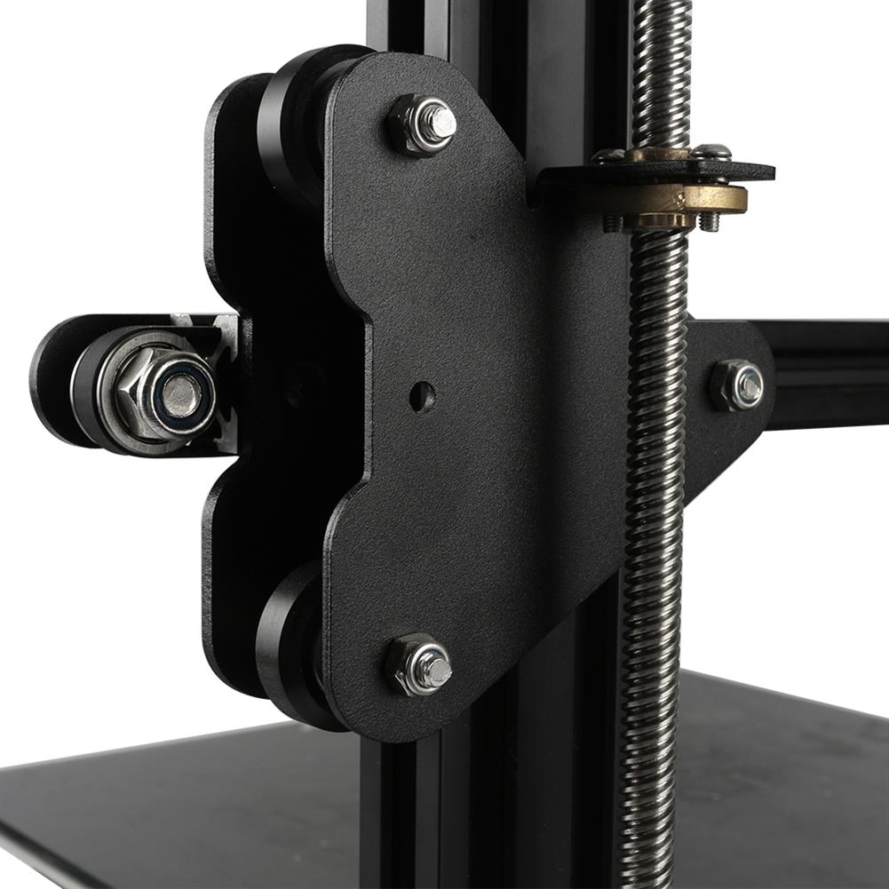 3d-printer-accessories S4/S5 Right X-Axis Motor Mount Bracket Plate with Pulley & T8 Nut for CR-10 Creality 3D Printer Part HOB1555814 2 1