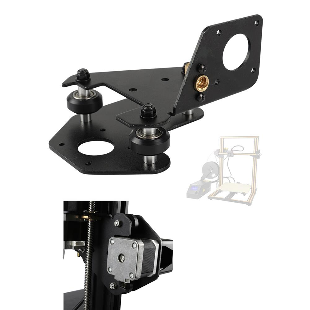 3d-printer-accessories S4/S5 Left X-Axis Motor Mount Bracket Plate with Pulley & T8 Nut for CR-10 Creality 3D Printer Part HOB1557134 1