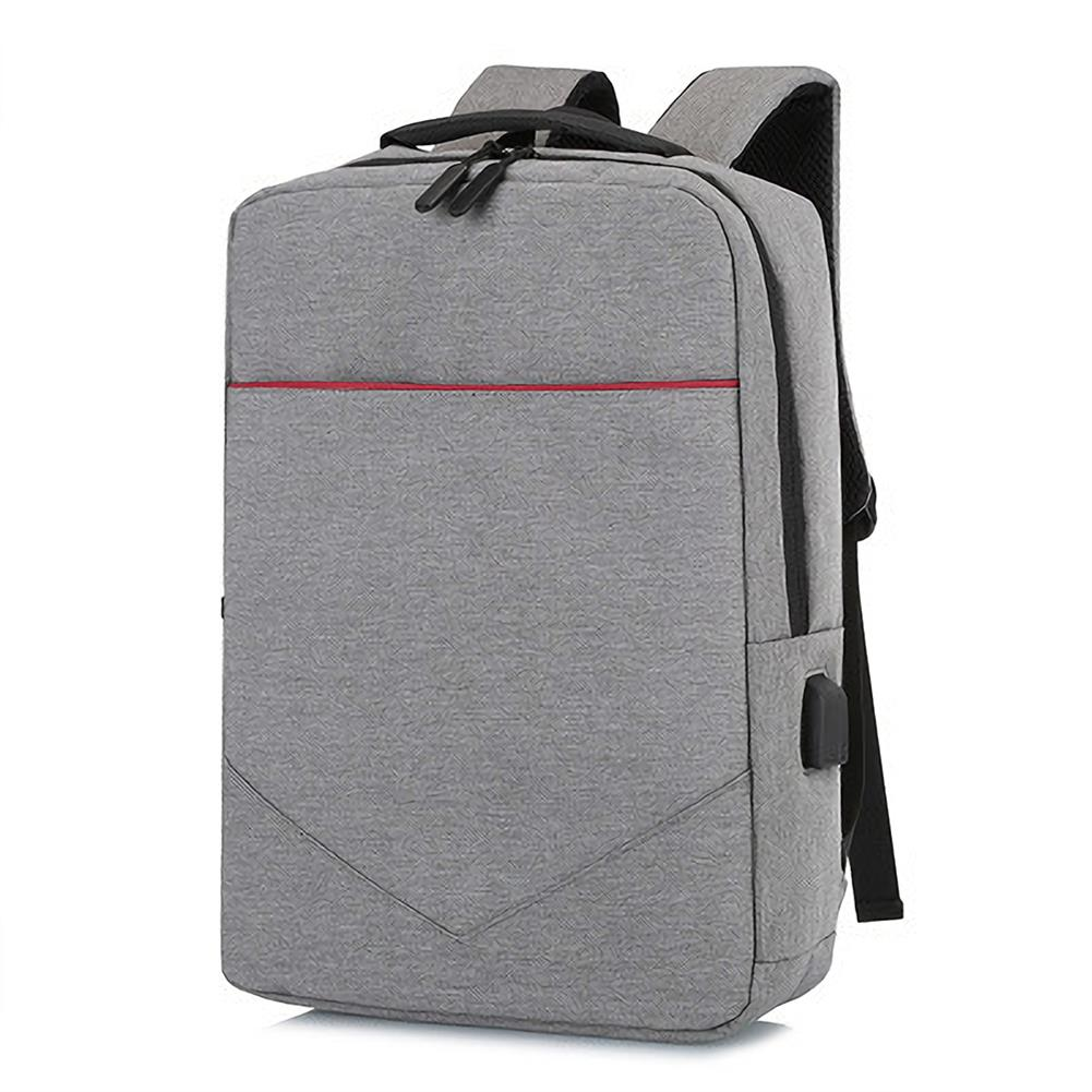 laptop-bags, cases-sleeves FLAMEHORSE Laptop Bag Backpack Pure Color Business Casual Backpack USB Charging Travel Shoulders Bag HOB1557490 1 1