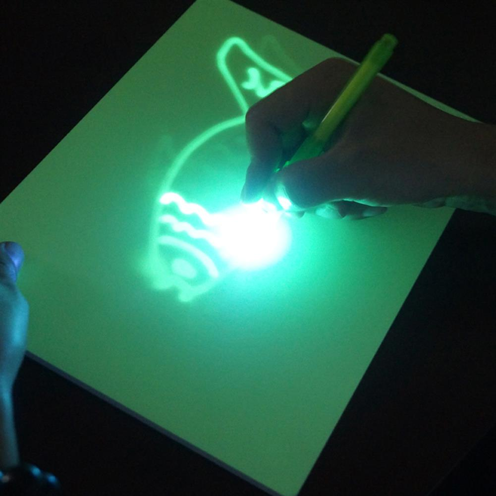 gel-pen Elice A3/A4 Luminous Drawing Board Night Light Fluorescent Writing Tablet Educational Funny Toys for Childrens Boys Girls Early Education JSK-FA4 JSK-FA3 HOB1557770 3 1