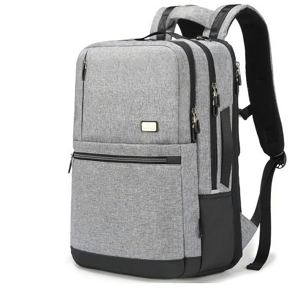 laptop-bags, cases-sleeves OUTWALK 15.6 inch Laptop Bag Backpack with USB Charging Outdoor Sports Travel Backpack Waterproof Shoulders Storage Bag HOB1558151 1 1