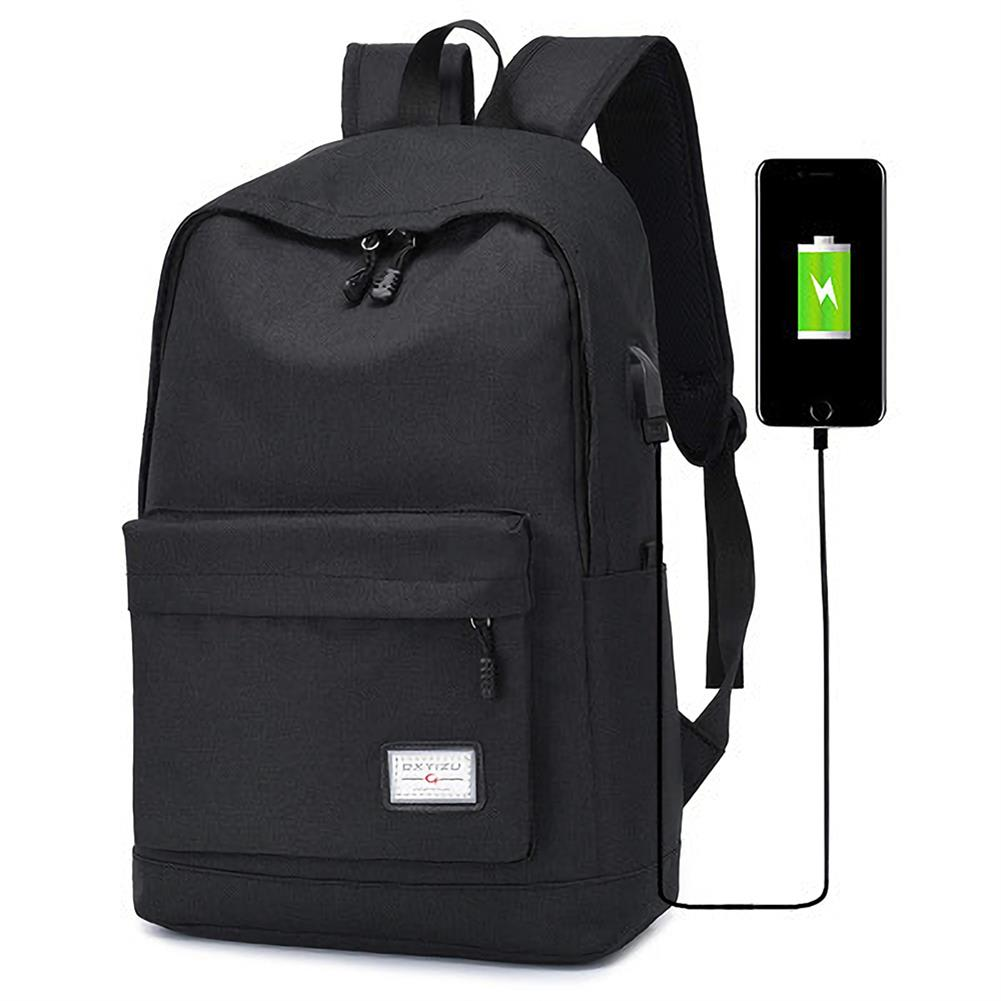 laptop-bags, cases-sleeves DXYIZU USB Charging Backpack Laptop Bag Youth Fashional College Schoolag Outdoor Travel Handbag HOB1559996 1