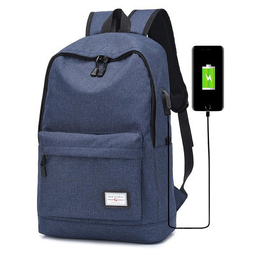 laptop-bags, cases-sleeves DXYIZU USB Charging Backpack Laptop Bag Youth Fashional College Schoolag Outdoor Travel Handbag HOB1559996 1 1