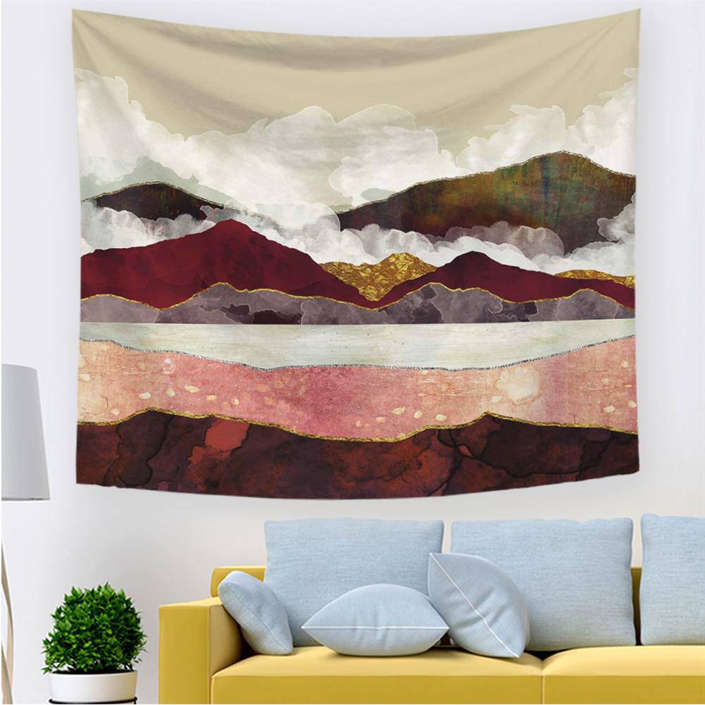 art-kit Sunset Landscape Tapestry Wall Hanging Cloth Picture Turtle Tapestry Wall Background Decorations Wall Hanging Painting HOB1563306 1