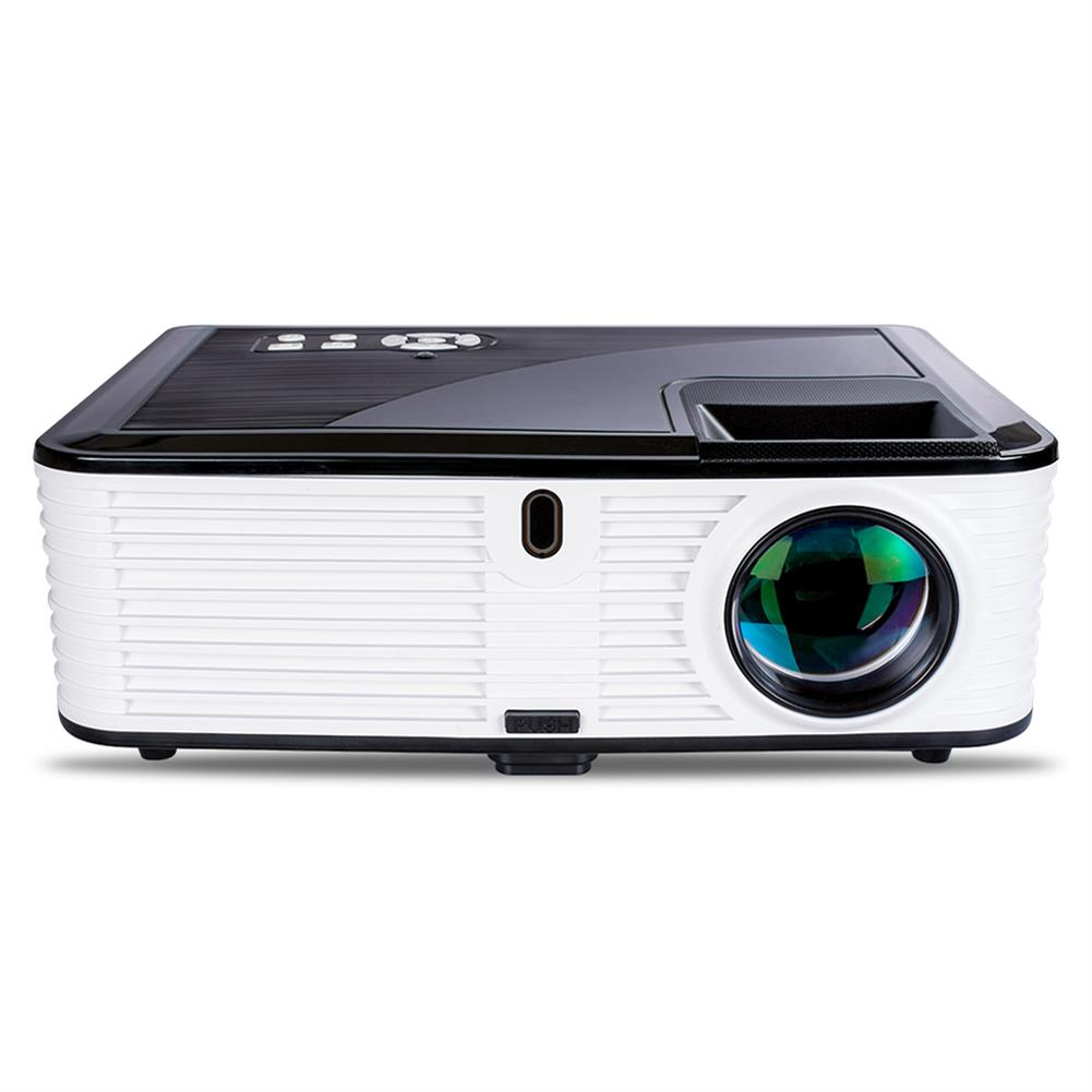 projectors-theaters Visiantek VS768 6.7-inch LCD Projector LED Projector Native 1080P 4000 Lumens Real Full HD Projector 4000 Lumens Home theater Android Version HOB1566103 1