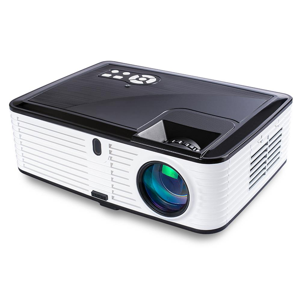 projectors-theaters Visiantek VS768 6.7-inch LCD Projector LED Projector Native 1080P 4000 Lumens Real Full HD Projector 4000 Lumens Home theater Android Version HOB1566103 1 1