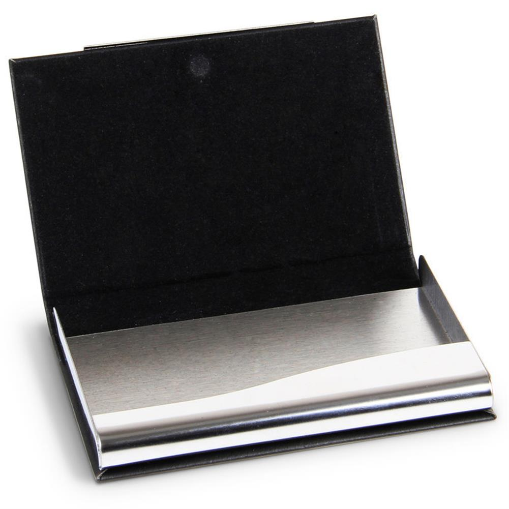 other-learning-office-supplies Deli 7628 Portable Magnetic Buckle Business Card Holder PU Leather Name Card Case Business ID Credit Card Case Cover Storage Organizer HOB1567095 3 1