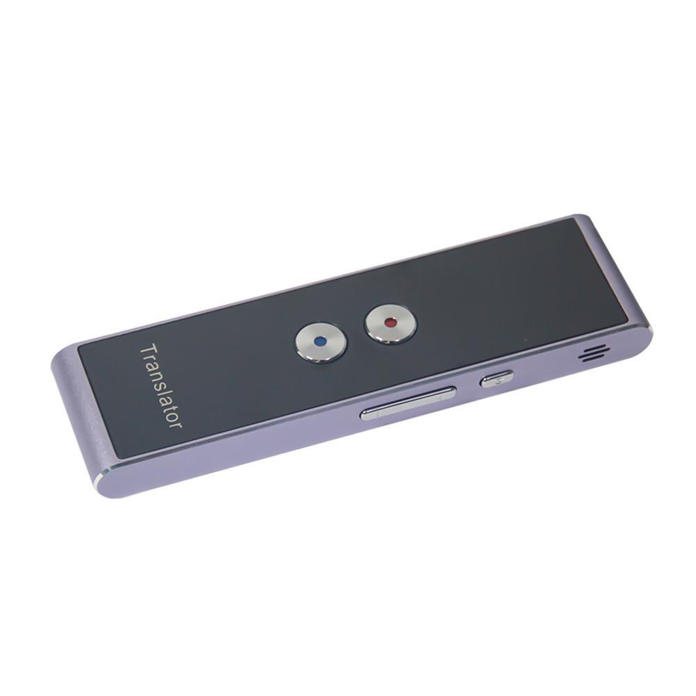 electronic-dictionaries-translators T8 Portable Mini Wireless Smart Translator APP bluetooth Multi-Language 40 Languages 2-Way Real Time instant Voice Translator HOB1568044 1 1