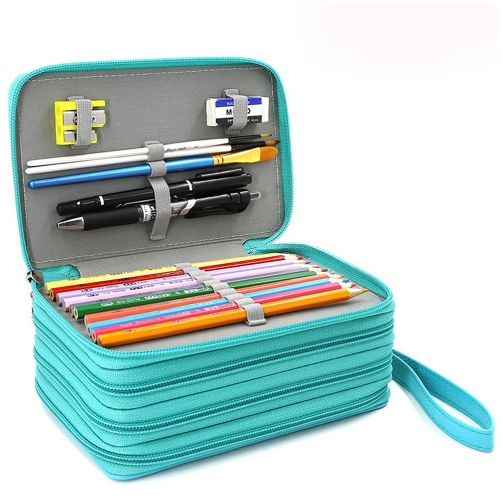 pencil-case Kawaii School Pencil Case 72 Holes Penal Pencil Case for Girls Boys Pen Bag Large Cartridge Penalties Big Box Stationery Pouch HOB1572695 1
