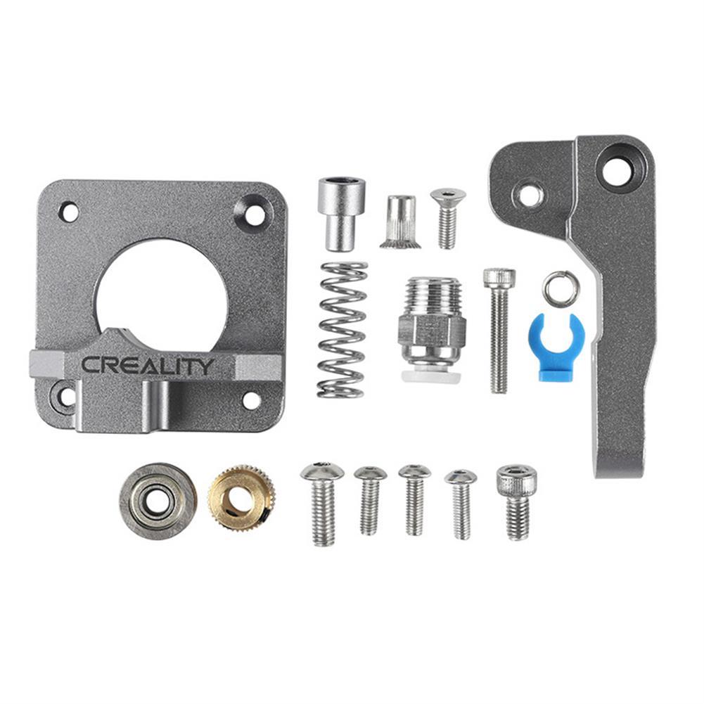 3d-printer-accessories Aluminum Block Silver Metal Extruder Kit for Creality 3D Ender 3/3 Pro/5/CR-10/10S 1.75mm Filament HOB1577567 1 1