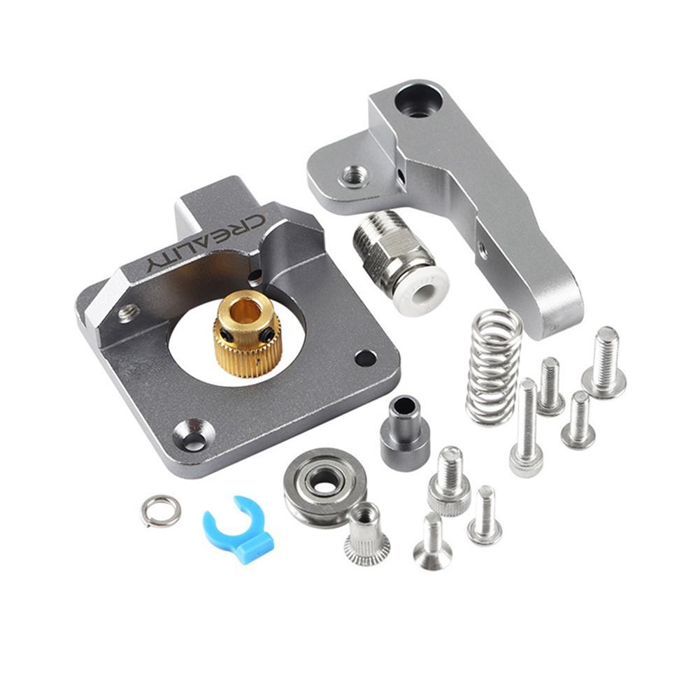 3d-printer-accessories Aluminum Block Silver Metal Extruder Kit for Creality 3D Ender 3/3 Pro/5/CR-10/10S 1.75mm Filament HOB1577567 2 1