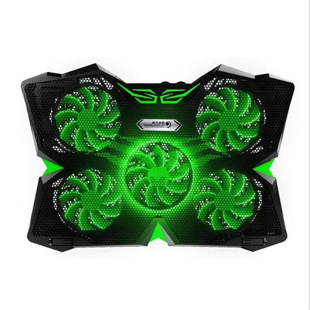 cooling-pads-stands Cool Cold Ice Troll 2S 15-17 inch Gaming Laptop Cooling Stand Powerful Pad with 5 Fans Laptop Cooler HOB1578396 1