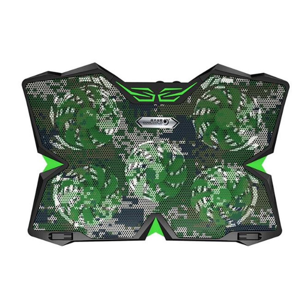 cooling-pads-stands Cool Cold Ice Troll 2S 15-17 inch Gaming Laptop Cooling Stand Powerful Pad with 5 Fans Laptop Cooler HOB1578396 1 1