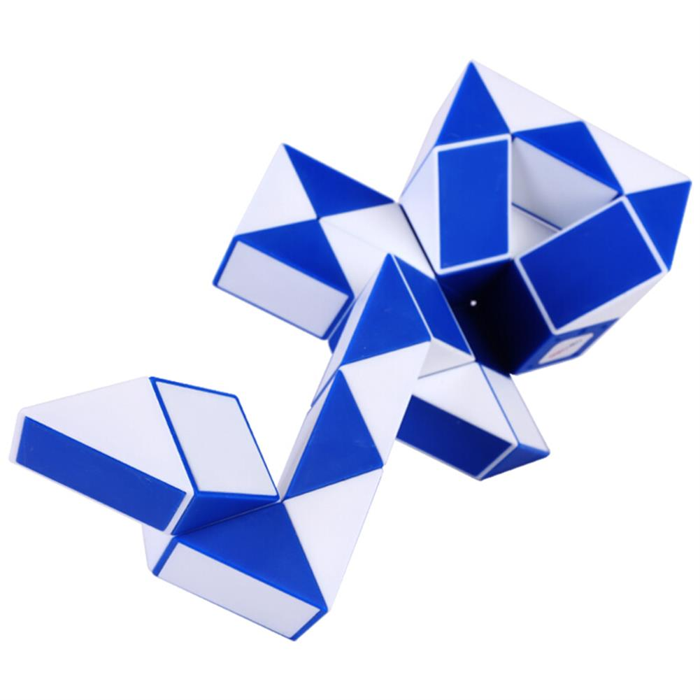 other-learning-office-supplies [From XM ] Deli 36 Blocks Snake Magic Cube 36 Segments Speed Brain Development Toys Twist Snake Puzzle Speed Magic Ruler Christmas Gifts for Kids HOB1587759 1 1