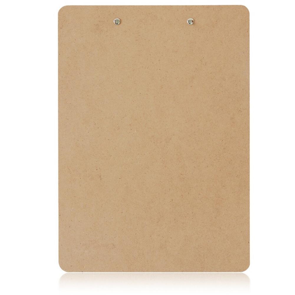 gel-pen Deli 9226 A4 Wooden Clip Board Portable Writing Board Clipboard office School Meeting Accessories with Metal Clip HOB1588657 1 1