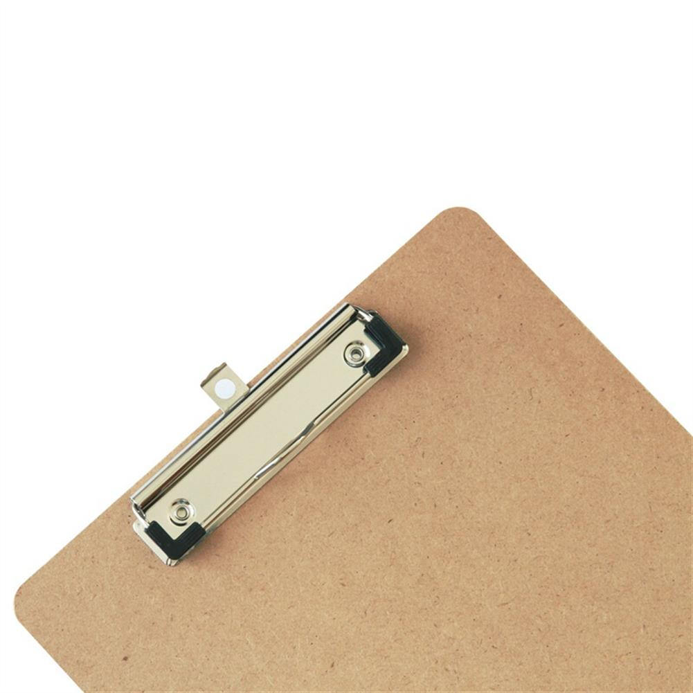 gel-pen Deli 9226 A4 Wooden Clip Board Portable Writing Board Clipboard office School Meeting Accessories with Metal Clip HOB1588657 3 1