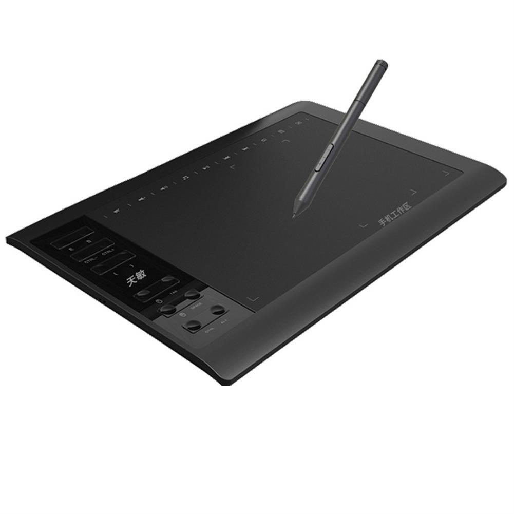 graphics-tablets 10 moons G10 10x6.25'' Graphics Drawing Tablet with 8192 Levels Digital Pen for MAC Windows Android System HOB1588876 1