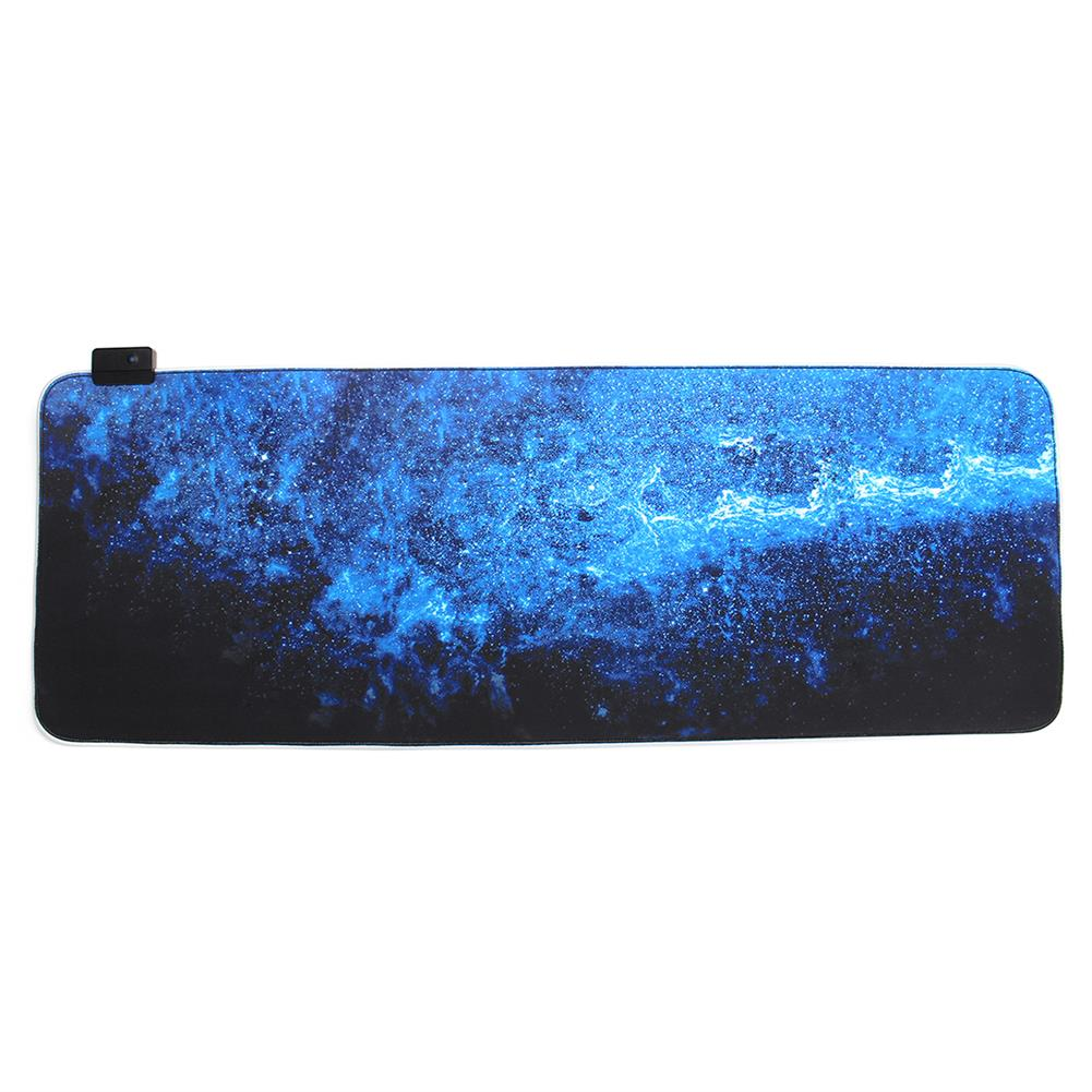 mouse-pads-keyboards-mouse the Milky Way USB Wired 6 RGB Colorful 7 Monochrome Lights LED Mouse Pad for Gaming Mouse E-Sport HOB1589639 1