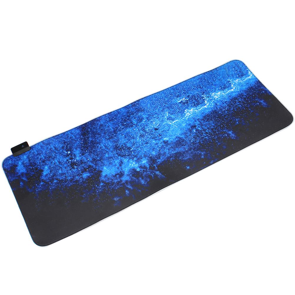 mouse-pads-keyboards-mouse the Milky Way USB Wired 6 RGB Colorful 7 Monochrome Lights LED Mouse Pad for Gaming Mouse E-Sport HOB1589639 1 1