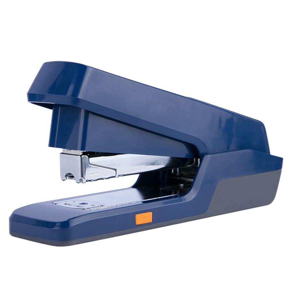 binding-machine Deli 0476 Labor-saving Push Type Stapler Large Heavy-duty Thick Stapler Student Stapler Standard Multi-function Stapler office School Supplies HOB1593463 1