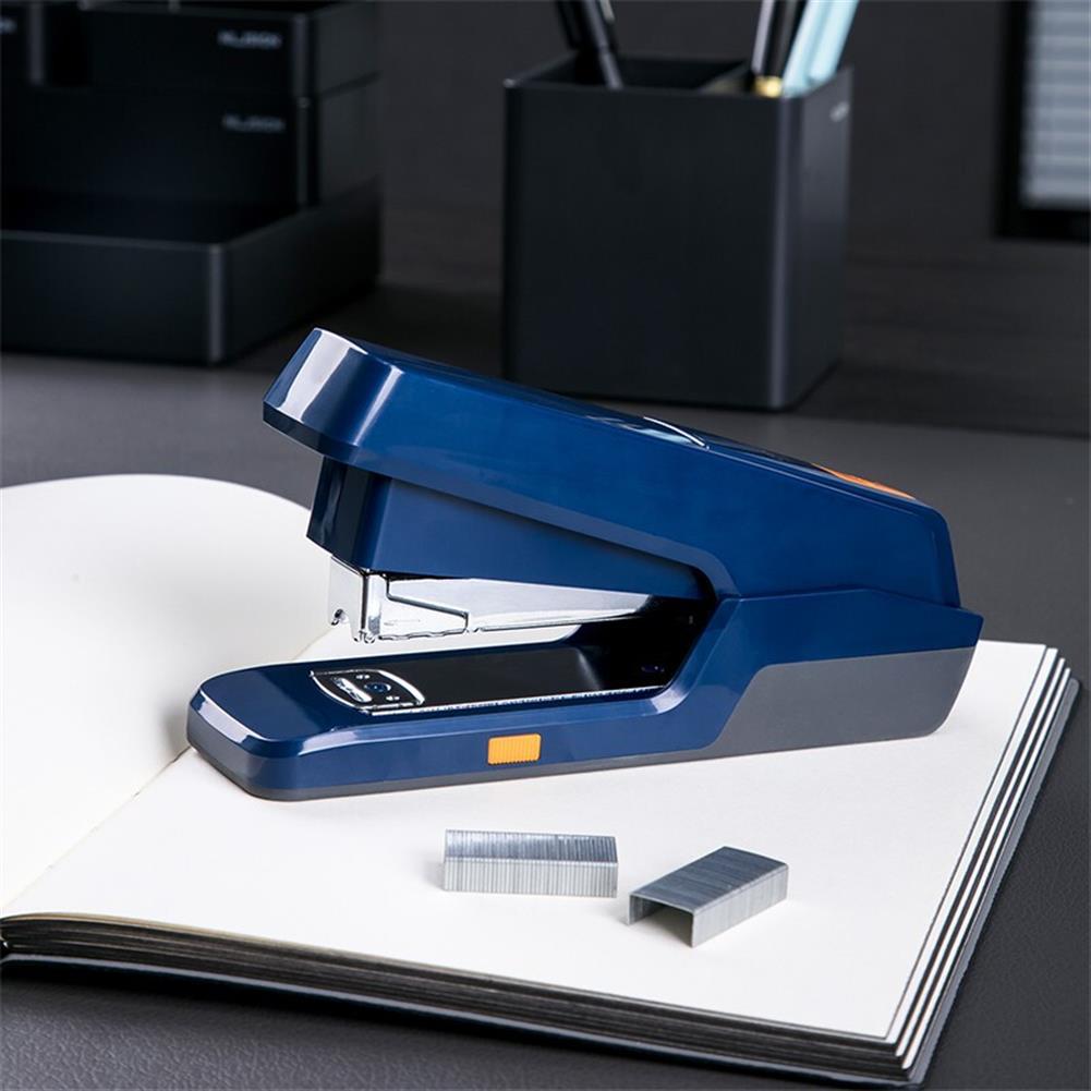binding-machine Deli 0476 Labor-saving Push Type Stapler Large Heavy-duty Thick Stapler Student Stapler Standard Multi-function Stapler office School Supplies HOB1593463 1 1