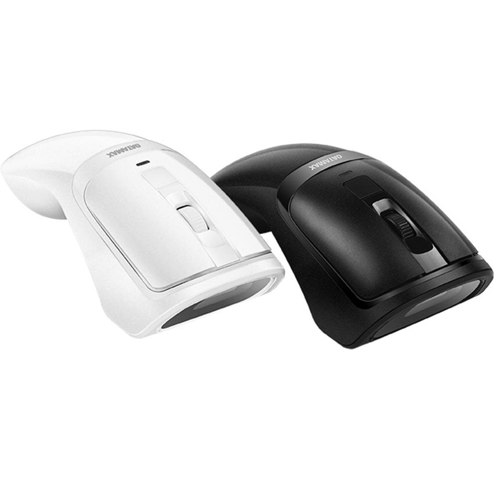 scanners Datamax M3 2 in 1 Wireless Mouse Scanner 1D 2D Barcode Scanner QR Code Scanner Ergonomic Mouse Scanning Machine for Supermakets Shops Payment - Black HOB1593774 1