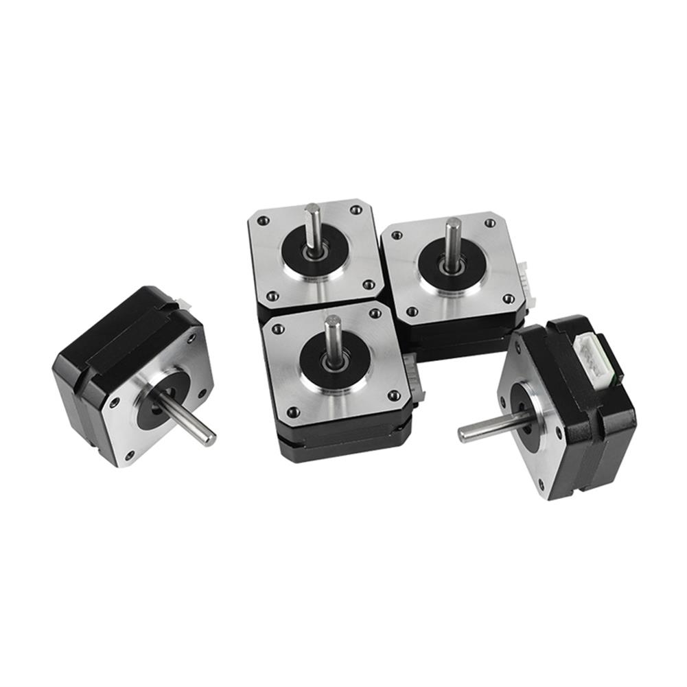 3d-printer-accessories 5Pcs 17HS4023 42*42*23mm Stepper Motor with Cable for 3D Printer Part HOB1594021 1 1