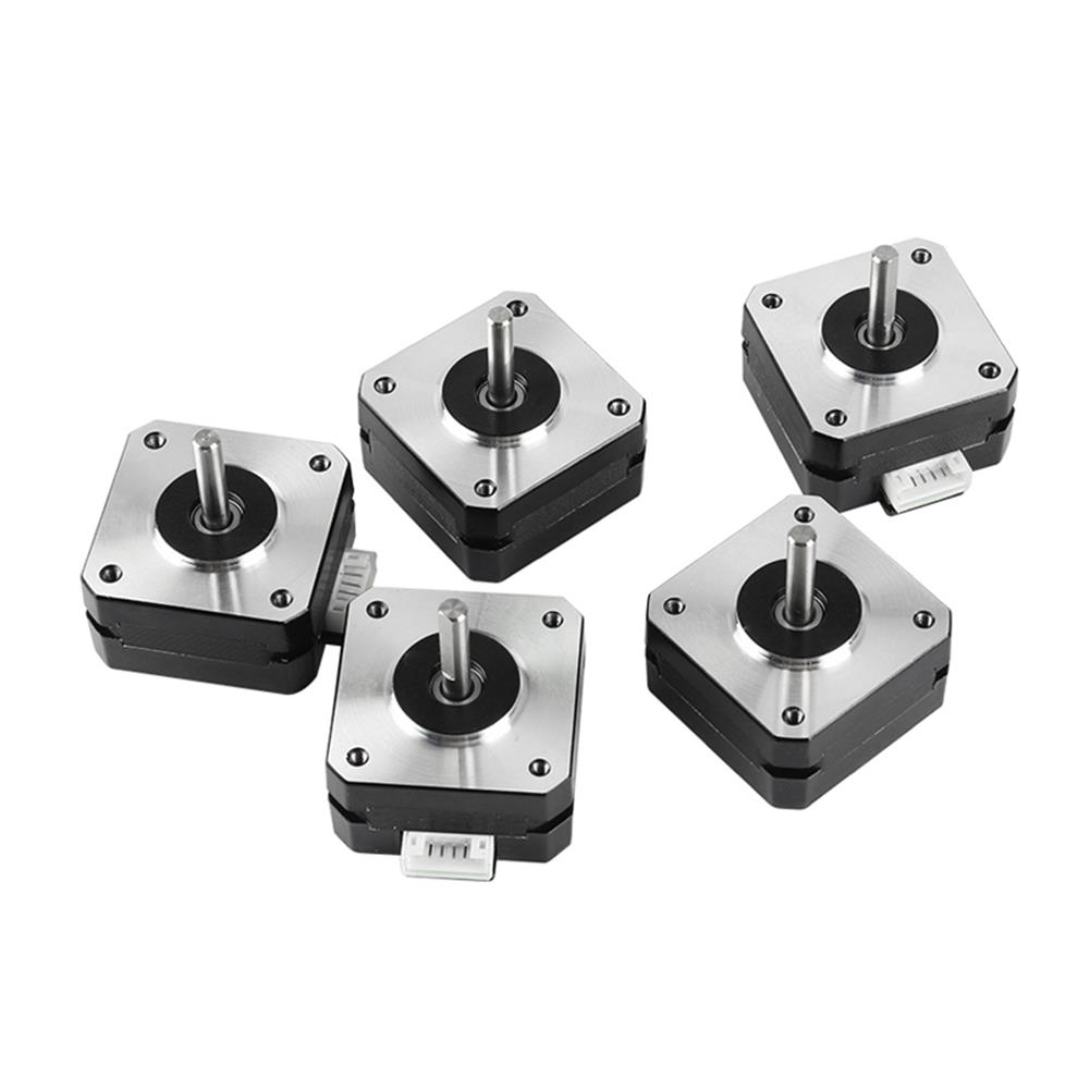 3d-printer-accessories 5Pcs 17HS4023 42*42*23mm Stepper Motor with Cable for 3D Printer Part HOB1594021 2 1
