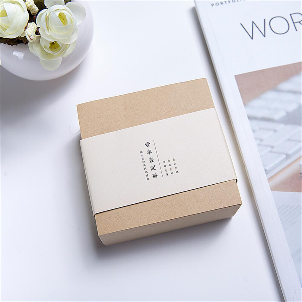 paper-notebooks 1 Piece Thickened Square Bricks Notes N times Sticky Notes Simple Stationery Blank Tearable Notes Adhesive Sticky Notes 400 Sheets/set 0732 HOB1594483 1 1