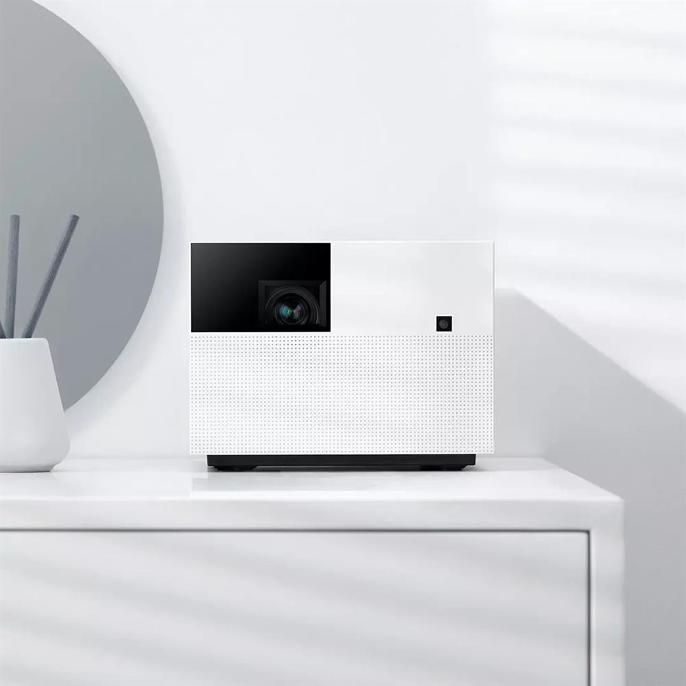 projectors-theaters Fengmi Smart WIFI Projector Native 1080P Full HD Resolution 1500 ANSI Lumens 2+32GB MIUI TV Bluetooth Voice Control Auto Focus Side Projection Home theater Outdoor Movie Beamer HOB1594531 1 1