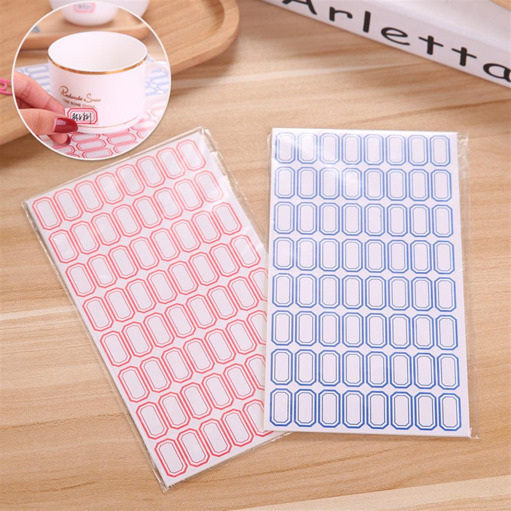 paper-notebooks 10 Sheets/pack Self Adhesive Label Paper 64 grids/sheet Easy Writing Stick-on Label Sticky Notes for office Shops Supermarkets HOB1594669 1 1