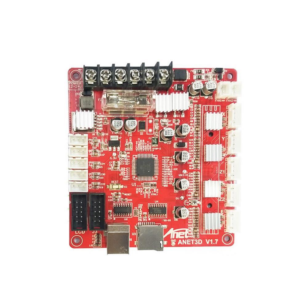 3d-printer-module-board Anet Upgraded E16 MainBoard MotherBoard Support RepRap Ramps1.4 A8 Main Control Board DIY for 3D Printer HOB1595239 1