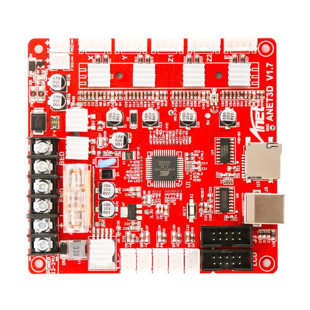 3d-printer-module-board Anet Upgraded E16 MainBoard MotherBoard Support RepRap Ramps1.4 A8 Main Control Board DIY for 3D Printer HOB1595239 2 1