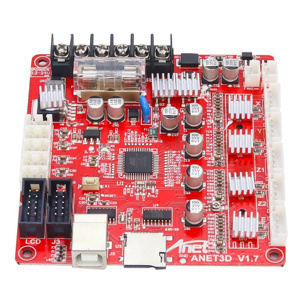 3d-printer-module-board Anet Upgraded E16 MainBoard MotherBoard Support RepRap Ramps1.4 A8 Main Control Board DIY for 3D Printer HOB1595239 3 1