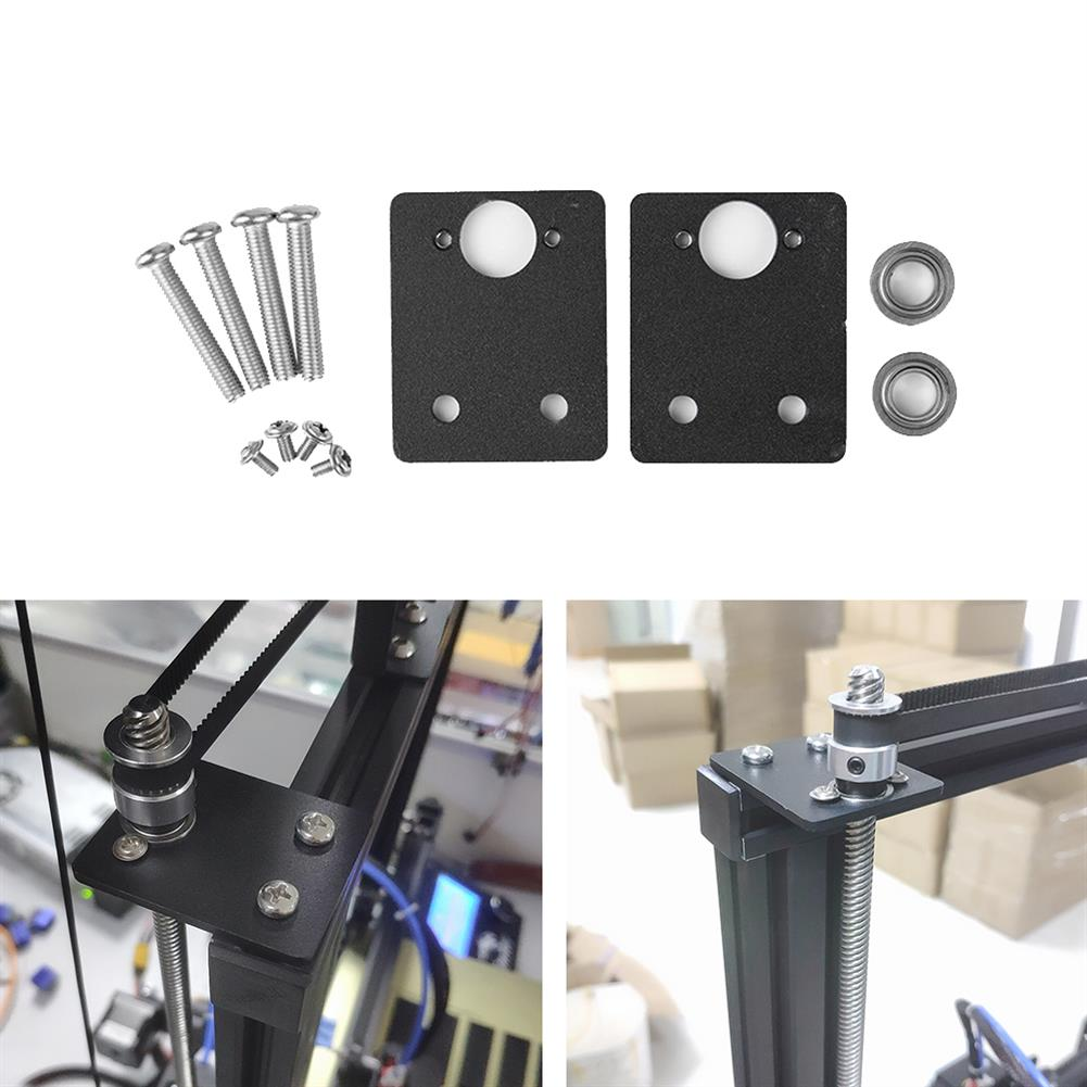 3d-printer-accessories Double Z-axis Stabilizer Metal Bearing Fixing Bracket for 3D Printer Lead Screw Top Mounting HOB1596816 1