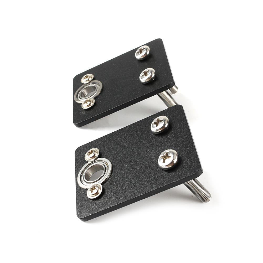 3d-printer-accessories Double Z-axis Stabilizer Metal Bearing Fixing Bracket for 3D Printer Lead Screw Top Mounting HOB1596816 3 1