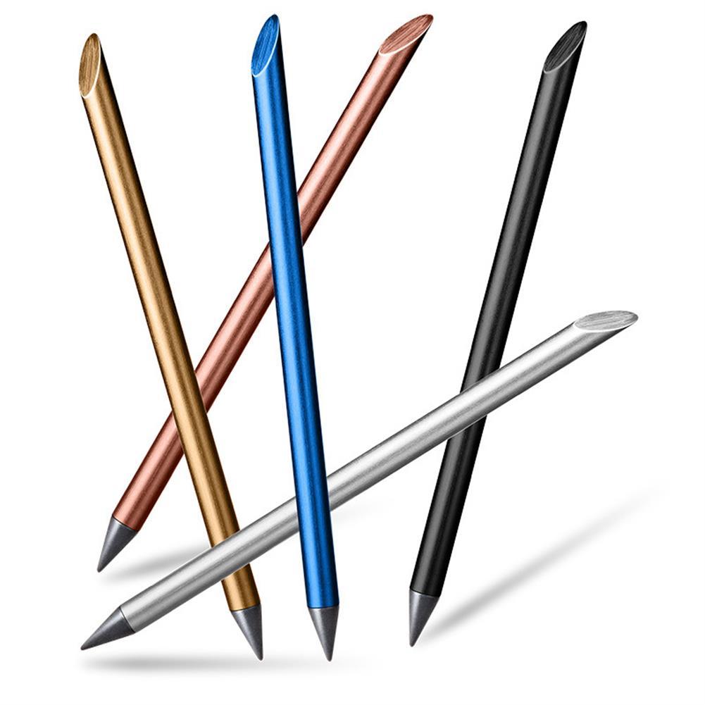 pencil ZKE0220 Full Metal No ink Fountain Pen Luxury Eternal Pen Gift Box inkless Pen Beta Pens Writing Stationery office School Supplies HOB1597548 1