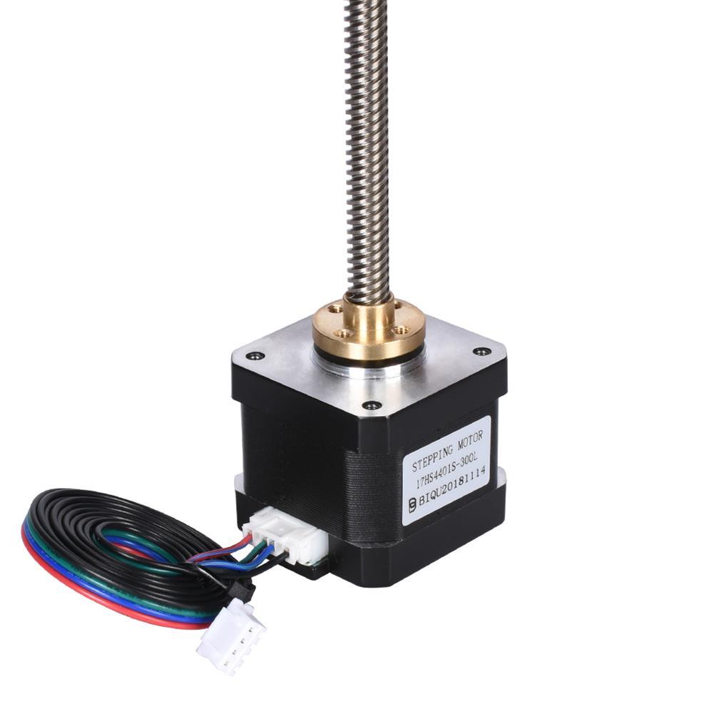 3d-printer-accessories Nema17 Stepper Motor + T8 500mm Screw +8mm Copper Nut 8mm 500mm Lead Screw 17HS4401S Motor Kit for 3D Printer HOB1597954 1