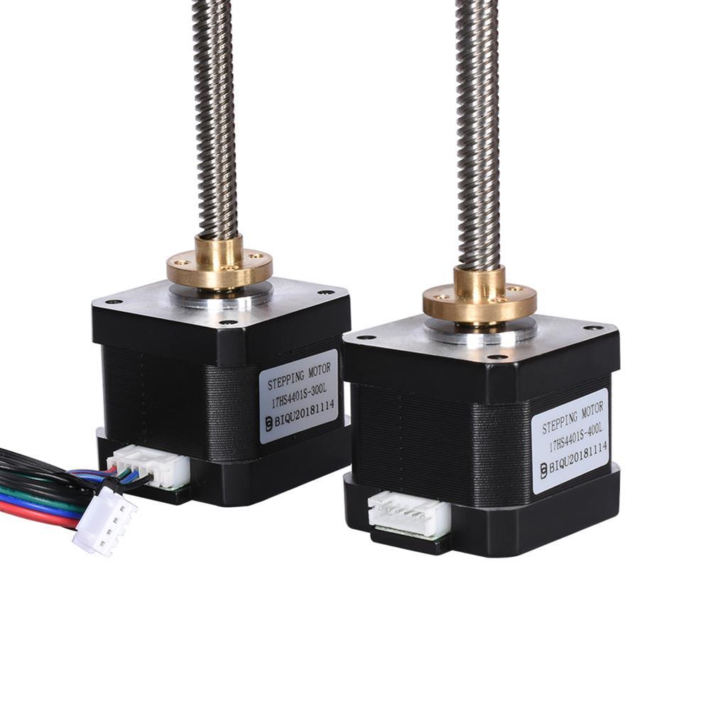 3d-printer-accessories Nema17 Stepper Motor + T8 500mm Screw +8mm Copper Nut 8mm 500mm Lead Screw 17HS4401S Motor Kit for 3D Printer HOB1597954 2 1
