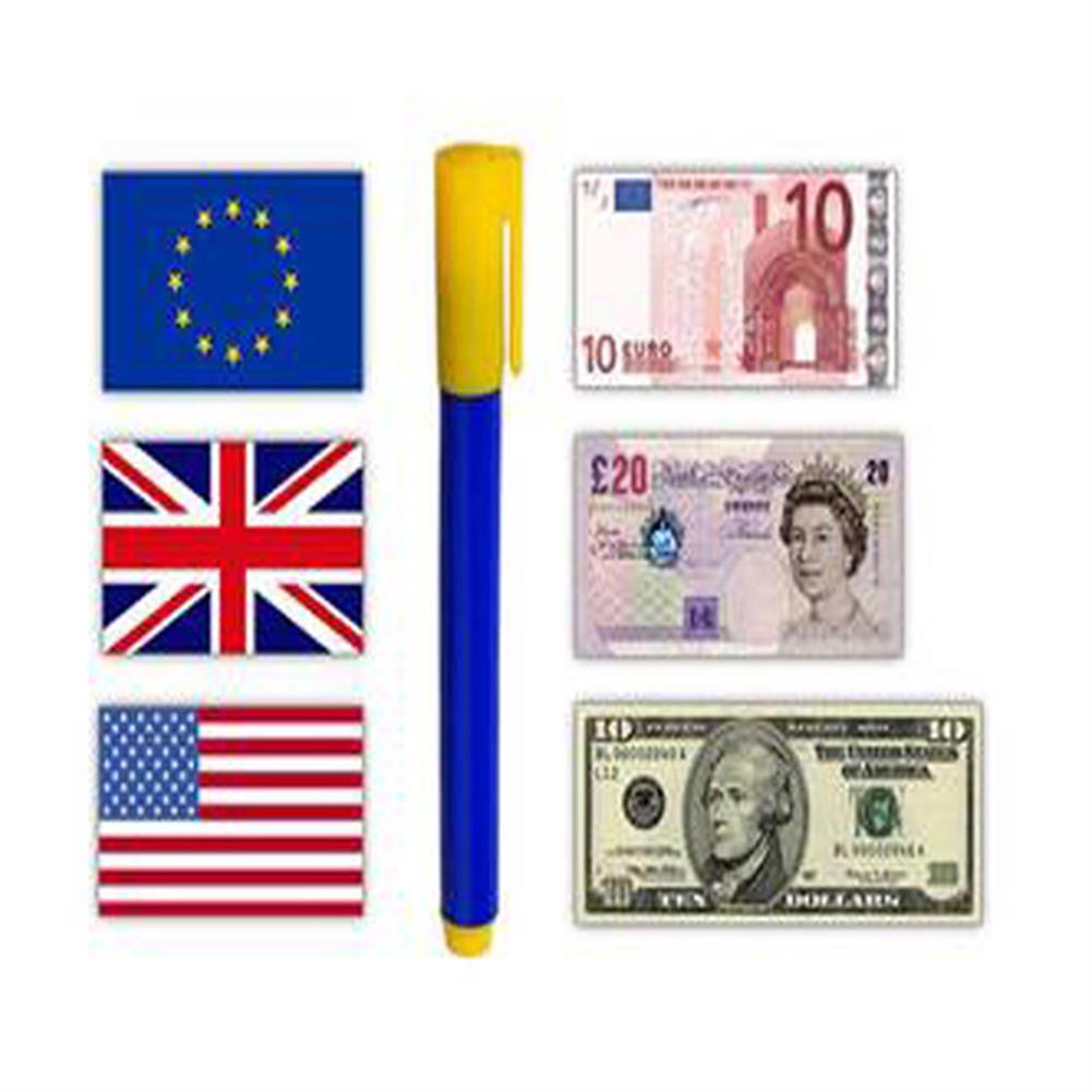gel-pen 1 Piece Portable Mini Multifunctional Cash Detector Pen Money Detector Pen Multi-foreign Currency Detection Color Change Pen HOB1598061 1