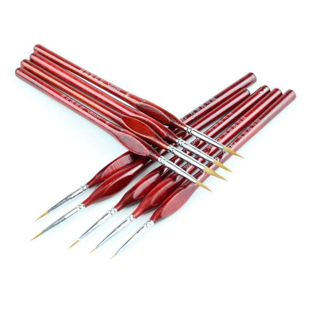 brush Hook Line Brush Pens Painting Brush Miniature Detail Fineliner Nail Art Drawing Pens Brushes for Acrylic Painting Supplies HOB1601806 1