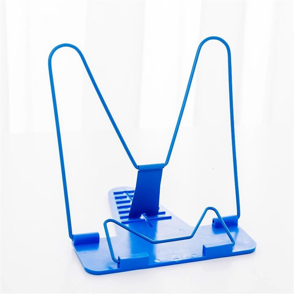 gel-pen 1 Piece Bookends Portable Foldable Adjustable Bookend Stand Reading Book Stand Document Holder Base Reading Book Holder HOB1603080 1 1