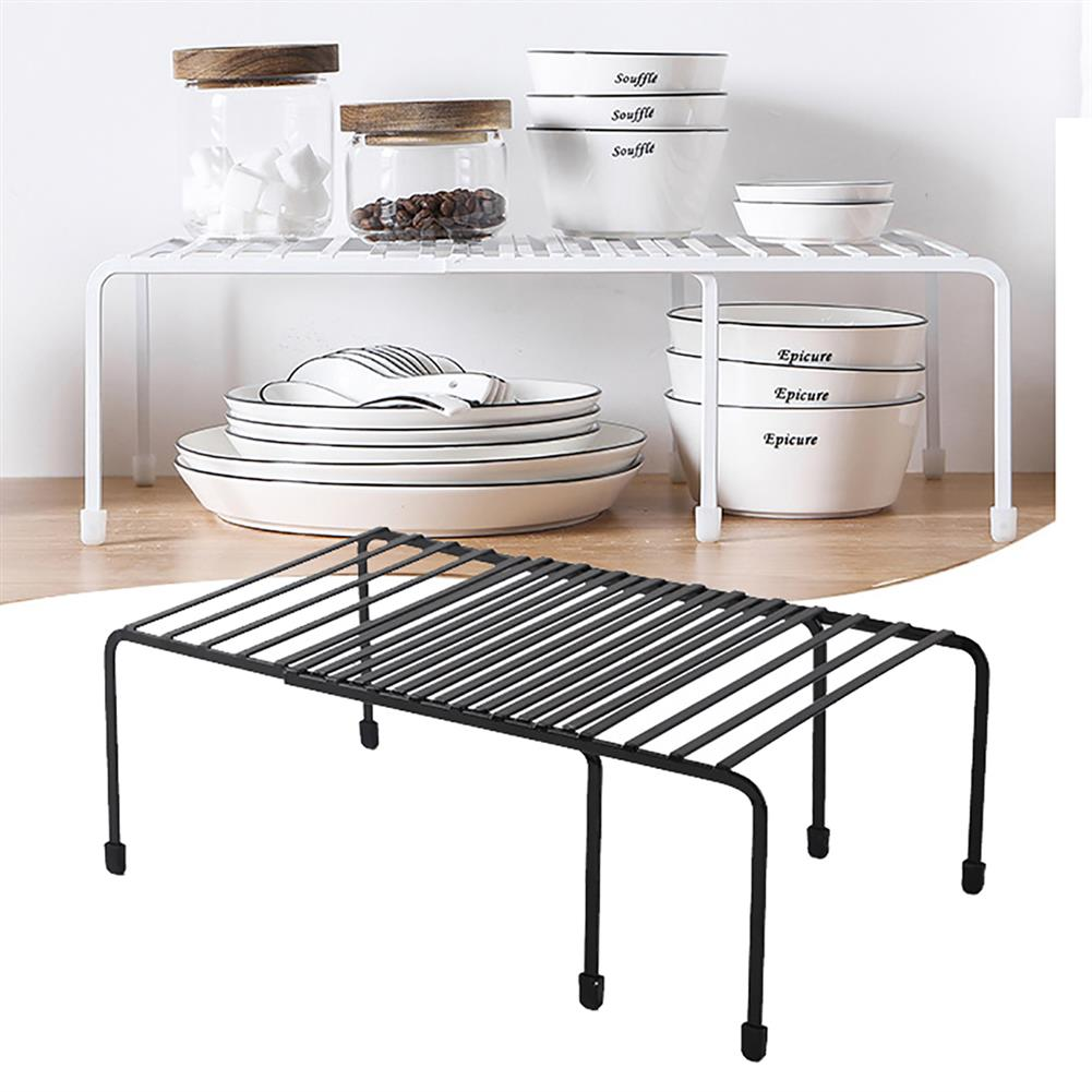 desktop-off-surface-shelves Retractable Kitchen Storage Shelf Spice Racks Stand Desktop Countertop Storage Organizer for Home Kitchen Bathroom HOB1605284 1