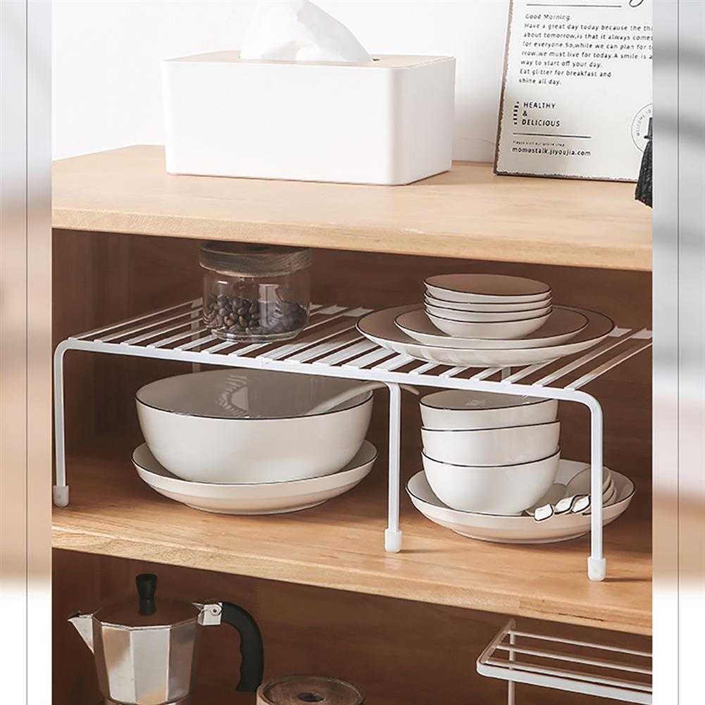 desktop-off-surface-shelves Retractable Kitchen Storage Shelf Spice Racks Stand Desktop Countertop Storage Organizer for Home Kitchen Bathroom HOB1605284 3 1
