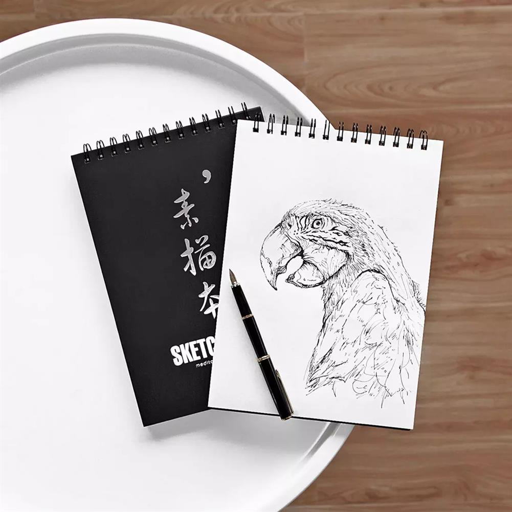 paper-notebooks Guangbo 1 Piece A4 Sketch Book Sketchbook Notepad Notebook for Drawing Painting Graffiti office School Supplies from XM HOB1607544 1