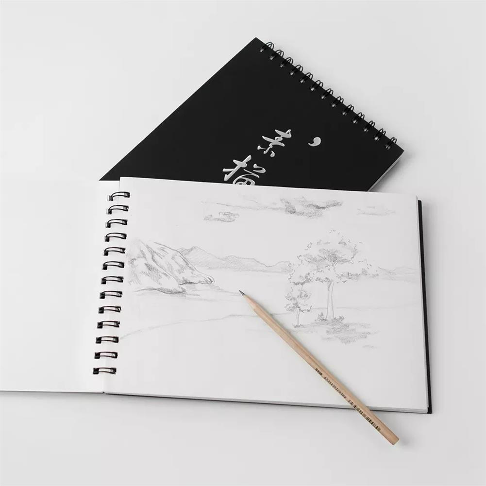 paper-notebooks Guangbo 1 Piece A4 Sketch Book Sketchbook Notepad Notebook for Drawing Painting Graffiti office School Supplies from XM HOB1607544 3 1